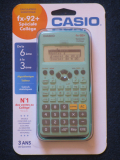 Casio fx-92+SC Pavel