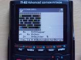 TI-82Adv Python + SynchroD