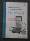 Livre Algo prog TI-83PCE ICN 2nd