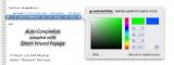 TI-Nspire Lua SDK Mockup - Choix de la couleur