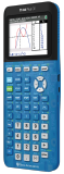 Transparent Blue TI-84 Plus CE