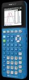 Transparent Blue TI-84 Plus CE