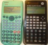 Comparaison HP-300s+ et Casio fx