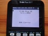 TI-84 Plus CE-T + OS 5.4.1