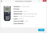 Informations TI-89 Titanium