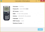 Informations TI-83 Plus.fr (USB)