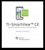 TI-SmartView CE | Splash window