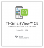TI-SmartView CE | Splash window