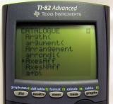 TI-82 Advanced - No Asm() !