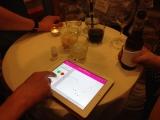 Science reception - Lua BLE iPad