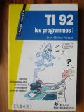 TI-92 les programmes !