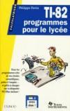 TI 82 programmes pour le lycée