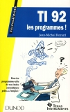 TI 92 les programmes !