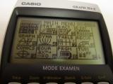 Graph 75+E avec mode examen