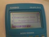 Graph 25+E + menu Diags exam