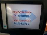 Prix CASIO Graph 35+E Carrefour
