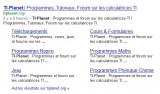 TI-Planet on Google