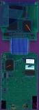 TI-81 0719871 PCB Rear UV