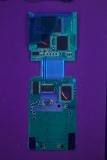 TI-81 'B' Mainboard Back UV