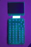 TI-81 0804828 'D' PCB Front UV