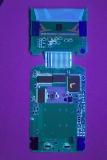 TI-81 0804828 'D' PCB Main UV