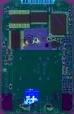 TI-81 17050114 PCB Close-Up UV