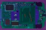 TI-83 14528601 PCB UV