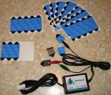 Capteur ECG + applicateurs