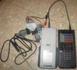 TI-Nspire LabStation Cradle + capteurs en connexion USB calculatrice