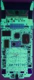 TI-73 01620097 PCB Rear UV