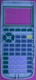 TI-73 01620097 Front Housing UV