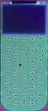 TI-84 Plus 16230148134 PCB F UV