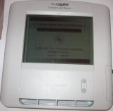 TI-Nspire ViewScreen - écran d'accueil