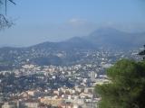 Nice, vue nord du Mont Boron