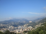 Nice, vue nord du Mont Alban