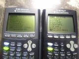 TI-84 Plus T + TI-82 Advanced