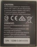 TI-Nspire CX HWO Samsung battery