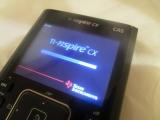 New TI-Nspire CX Boot screen