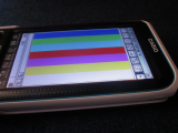Casio fx-CP400+E + image mire