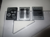Batteries : 1x TI + 2x Samsung
