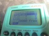 Casio Graph 25+