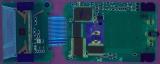 TI-82 0500730 PCB Rear UV