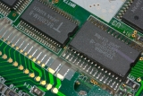 TI-82 0514172 CPU+ROM Pin Detail