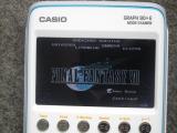 Casio Graph 90+E + NESizm 1.0