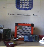 ampli sur TI 83+