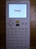 NumWorks + firmware Omega
