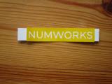 Autocollant NumWorks coque Num32