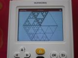 NumWorks + triangles Sierpiński