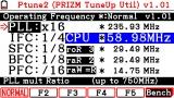 Ptune2 menu on FX-CG20 OS3.10