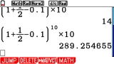 Calcul Application on FX-CG20 OS